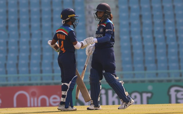 Mithali Raj and Punam Raut