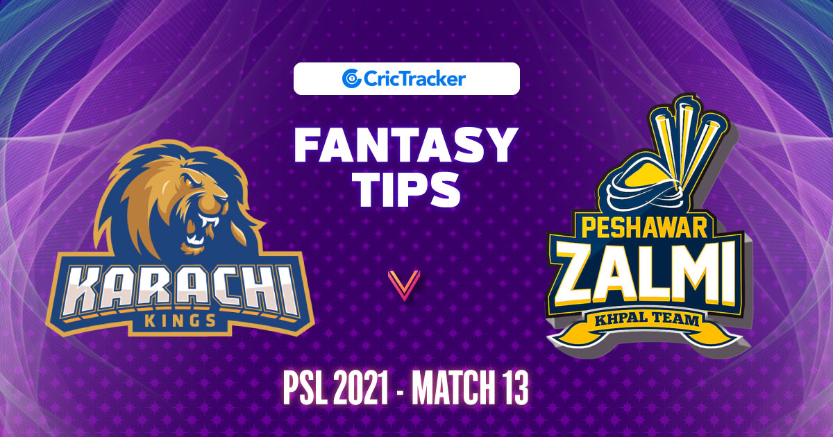 KKI vs PZL Prediction, 11Wickets Fantasy Cricket Tips, Playing XI, Pitch Report & Injury Update – PSL 2021, Match 13 - CricTracker