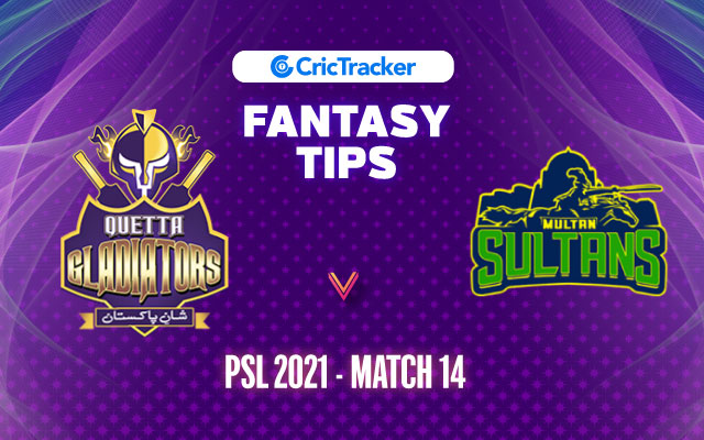 QGL vs MUS Prediction, 11Wickets Fantasy Cricket Tips: Playing XI, Pitch Report & Injury Update – PSL 2021, Match 14