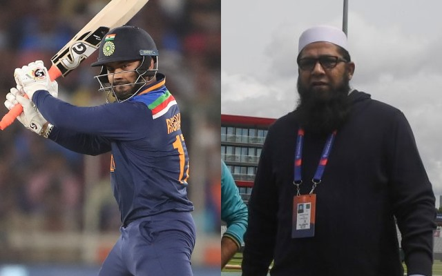 Rishabh Pant and Inzamam-ul-Haq