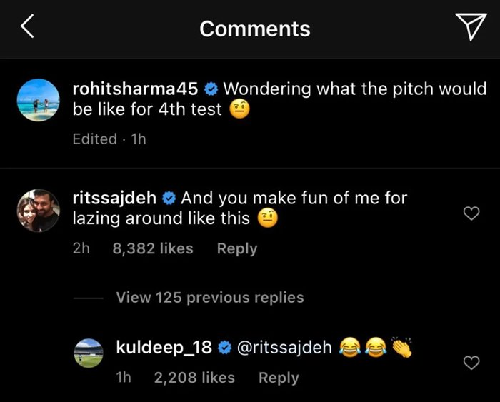 Ritika Sajdeh's comment