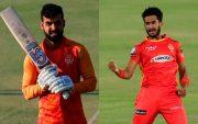 Shadab Khan and Hasan Ali