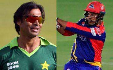 Shoaib Akhtar and Sharjeel Khan