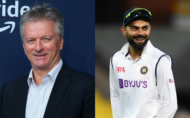 Steve Waugh and Virat Kohli
