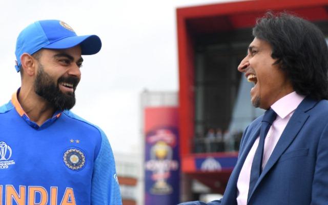 Virat Kohli and Ramiz Raja