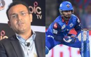 Virender Sehwag and Rishabh Pant