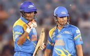 Virender Sehwag and Sachin Tendulkar