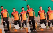 Bhuvneshwar Kumar, David Warner, and Rashid Khan