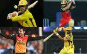 Dhoni, Kohli, Rashid and Raina