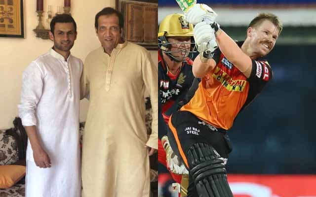 Imran Miraz and David Warner