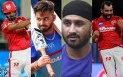 KL Rahul, Rishabh Pant, Harbhajan Singh, Muhammad Shami
