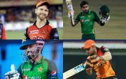 Kane Williamson, Babar Azam, Mohammad Rizwan, and Manish Pandey