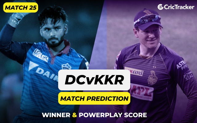 IPL 2021: Match 25, DC vs KKR Match Prediction – Who will win today's match? - CricTracker