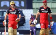 Maxwell and AB de Villiers