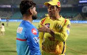 Rishabh Pant and MS Dhoni