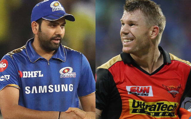 Rohit Sharma and David Warner