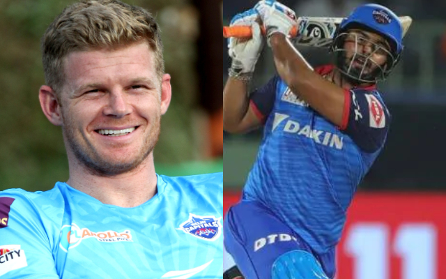 Sam Billings and Rishabh Pant