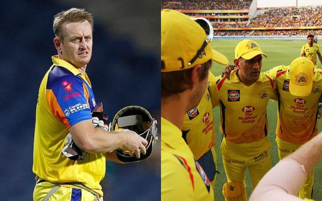 Scott Styris and Chennai Super Kings
