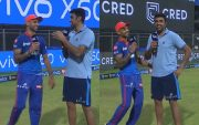 Shikhar Dhawan and Ravi Ashwin