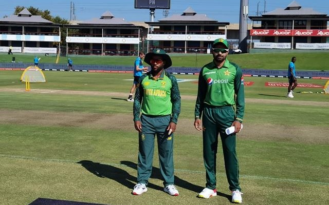 South Africa and Pakistan Team Captains