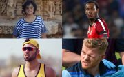 Taslima Nasreen, Jofra Archer, Saqib Mahmood, and Sam Billings