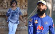 Taslima Nasreen and Moeen Ali
