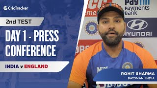It's Fun To Have Crowd Back: Rohit Sharma, Press Conference, IND vs ENG Second Test