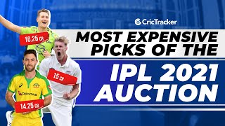IPL 2021 - Top 10 Most Expensive Players of IPL 2021 Auction With Players Price Details & Teams