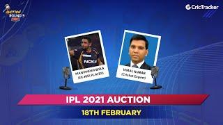 IPL Auction 2021 - Round 3 Updates