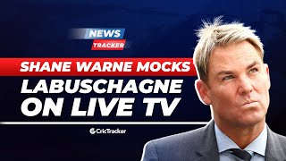 Shane Warne Mocks Marnus Labuschagne on Live TV, Tim Paine Lashes Out At Umpires For a DRS Review