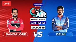 Bangalore v Delhi - Pre-Match Show - In the Air - Indian T20 League Match 19