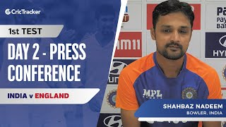 Root Was Sweeping Very Well Had To Come With A Plan: Shahbaz Nadeem, Press Conference, IND vs ENG
