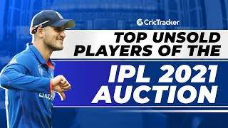 IPL 2021 - Top Unsold Players of IPL 2021 Auction, Top Players Who Went Unsold In 2021 Auction