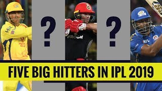 IPL 2019: Top 5 power hitters in the tournament | MS Dhoni and AB de Villiers in the list