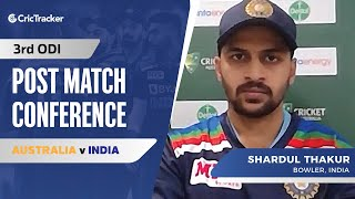 Shardul Thakur on his prized wicket of Steve Smith; hails T Natarajan. Post match Press Conference