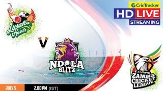 Zambia T10 League Live Streaming, Match 6, Lusaka Heats vs Ndola Blitz