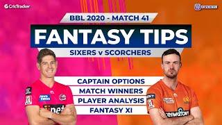 BBL, 41st Match, 11Wickets Team, Sydney Sixers vs Perth Scorchers, Full Team Analysis