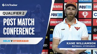 Kane Williamson speaks on Delhi's win in the second qualifier and What went wrong for Hyderabad?