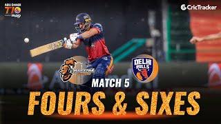 Match 5 - Maratha Arabians vs Delhi Bulls, Fours and Sixes, Abu Dhabi T10 League 2021
