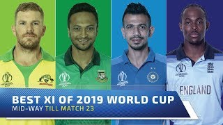 Best XI of World Cup 2019 mid-way | Aaron Finch to lead & open with Rohit | Buttler to keep