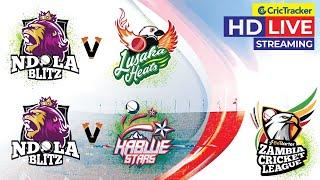 Zambia T10 League Live Streaming, Match 10 & 11, Lusaka vs Ndola, Kabwe vs Ndola