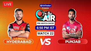 Hyderabad v Punjab - Pre-Match Show - In the Air - Indian T20 League Match 22