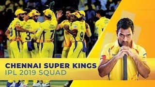 IPL 2019: Chennai Super Kings Full Squad | MS Dhoni to captain | Suresh Raina as deputy
