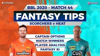 BBL, 44th Match, 11Wickets Team, Perth Scorchers vs Brisbane Heat, Full Team Analysis