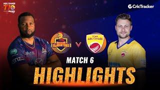 Match 6 Highlights - Deccan Gladiators vs Team Abu Dhabi, Abu Dhabi T10 League 2021
