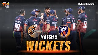 Match 5 - Maratha Arabians vs Delhi Bulls, Fall Of Wickets, Abu Dhabi T10 League 2021