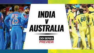 Preview: India vs Australia ODI series 2020