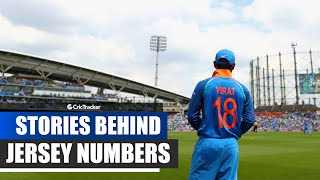 Indian Cricket Players' Jersey Numbers Stories & Facts ft. Kohli, Dhoni, Yuvraj, Sehwag & H Pandya