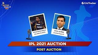IPL Post Auction 2021 Live Show