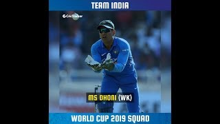 India's squad for World Cup 2019 | Virat Kohli to lead | Dhoni to keep | Ambati Rayudu axed